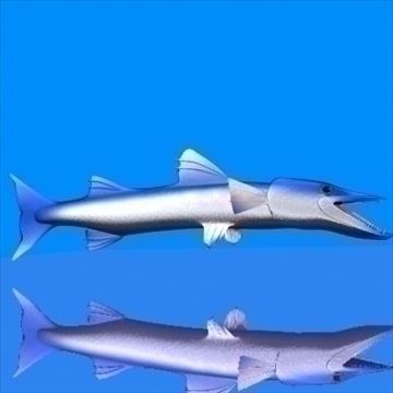 killer barracuda 3d model 3ds max dxf obj 105393