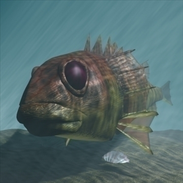 rascasse lion fish 3d model 3ds max obj 105846
