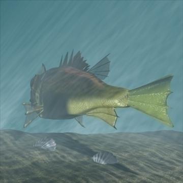 rascasse lion fish 3d model 3ds max obj 105848