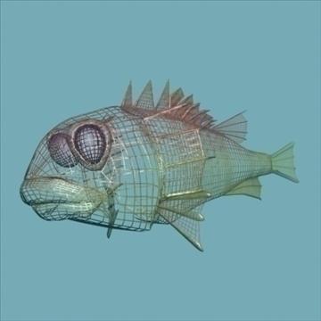 rascasse lion fish 3d model 3ds max obj 105849