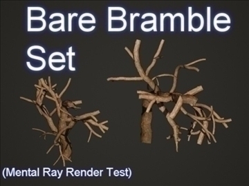 bare bramble set 001 3d model 3ds max obj 103181