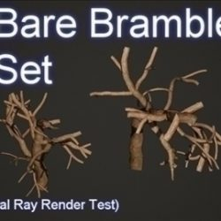 Bare Bramble Set 001 ( 58.55KB jpg by Asephei )