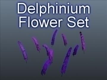delphinium vendosur 001 3d model 3ds max obj 102789