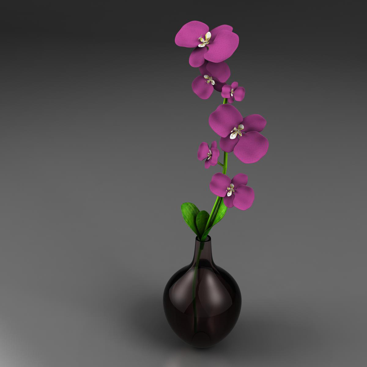 flower base 3d model 3ds max fbx ma mb obj 158095