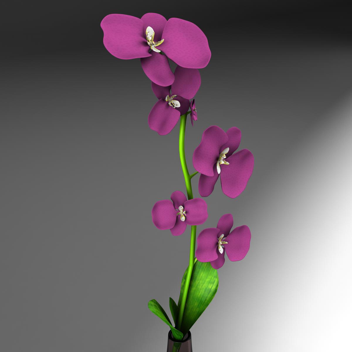 cvijetna baza 3d model 3ds max fbx ma mb obj 158096