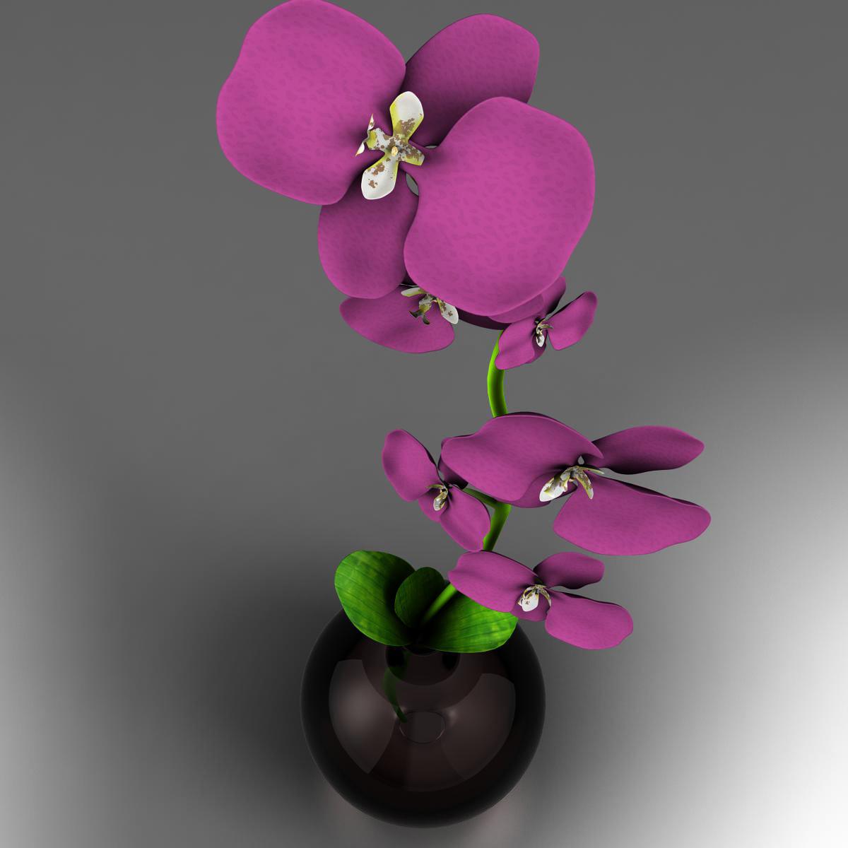 cvijetna baza 3d model 3ds max fbx ma mb obj 158098