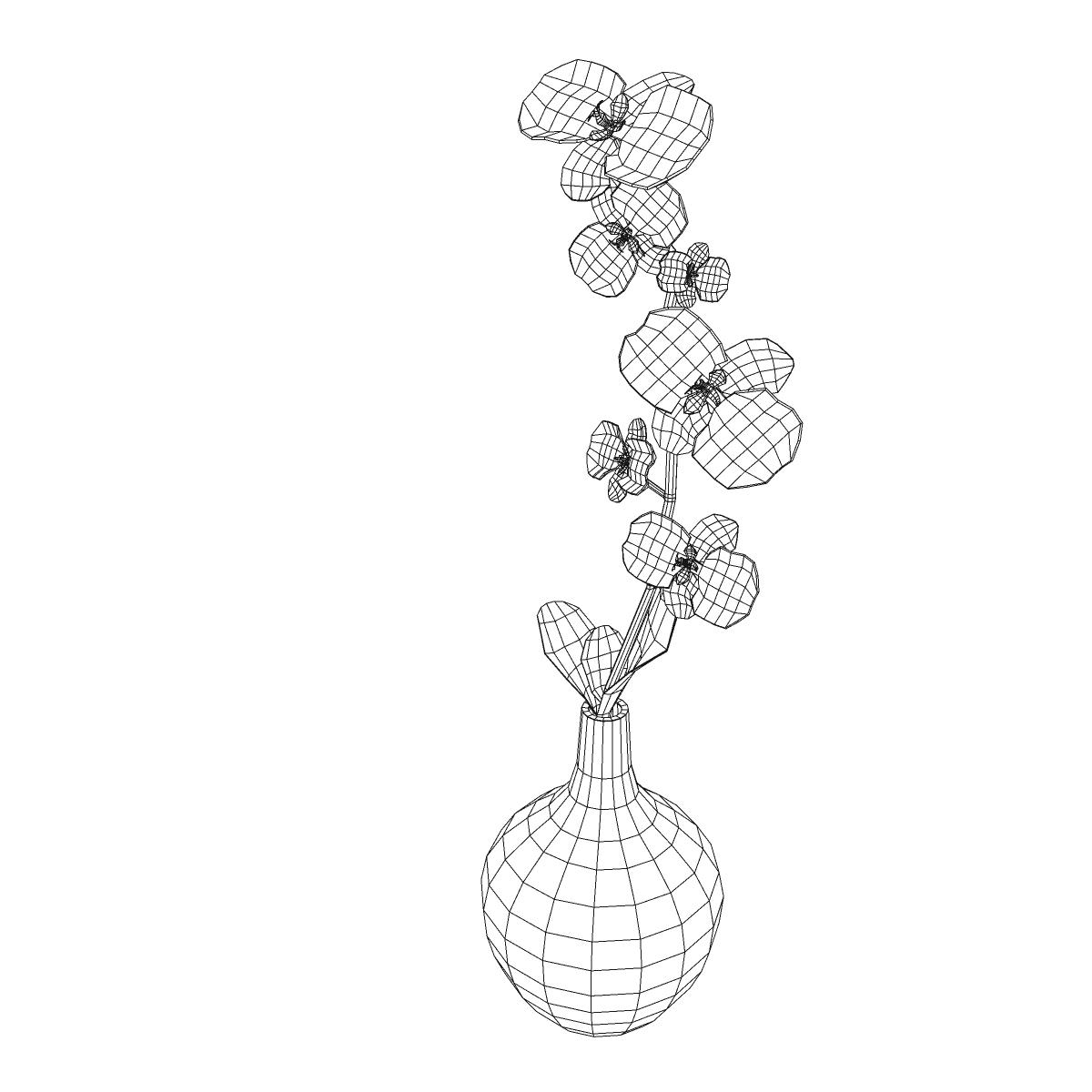 cvijetna baza 3d model 3ds max fbx ma mb obj 158101