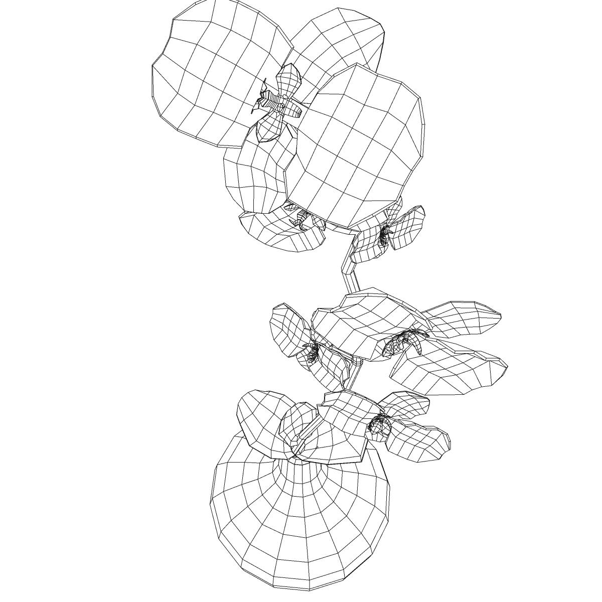 cvijetna baza 3d model 3ds max fbx ma mb obj 158106