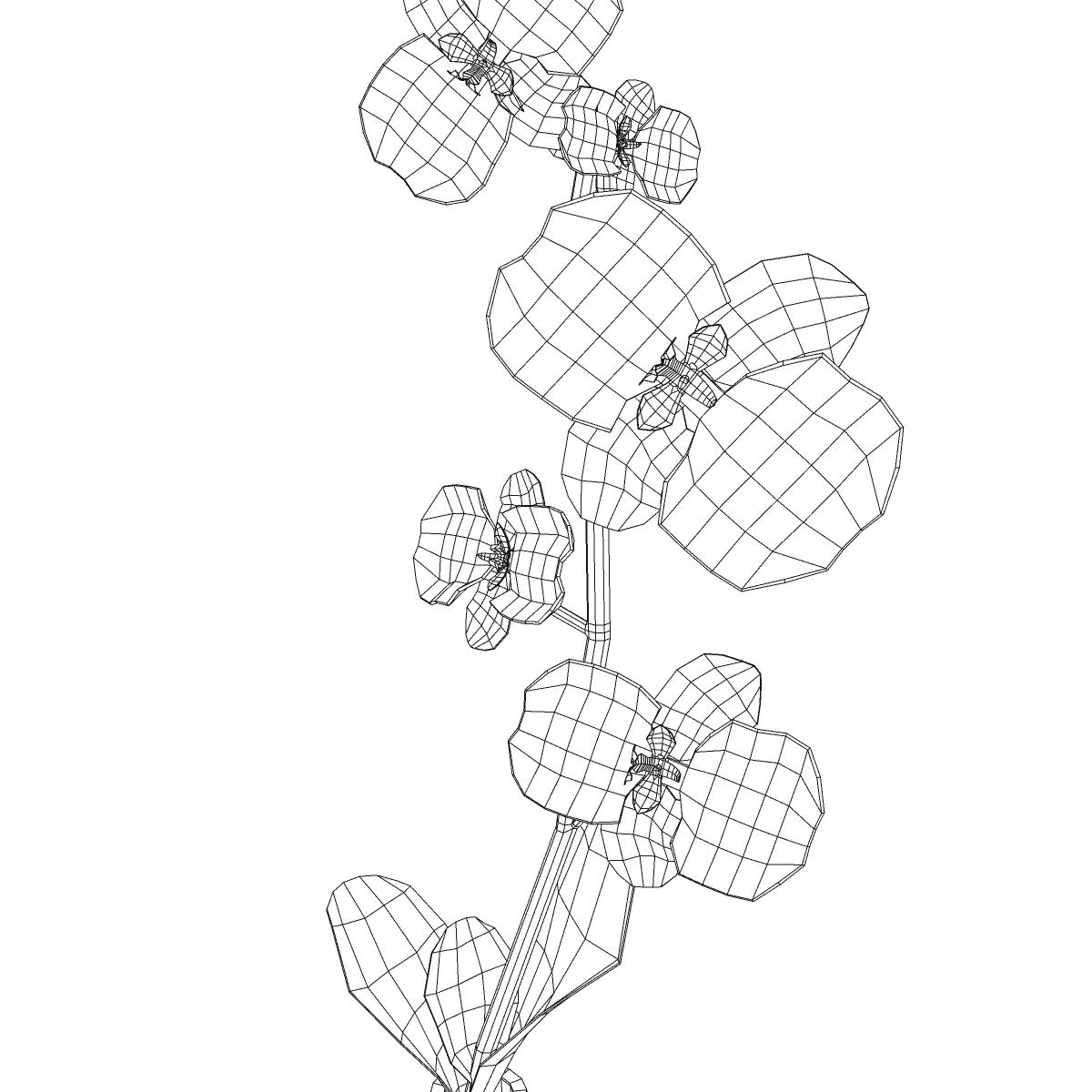 cvijetna baza 3d model 3ds max fbx ma mb obj 158107