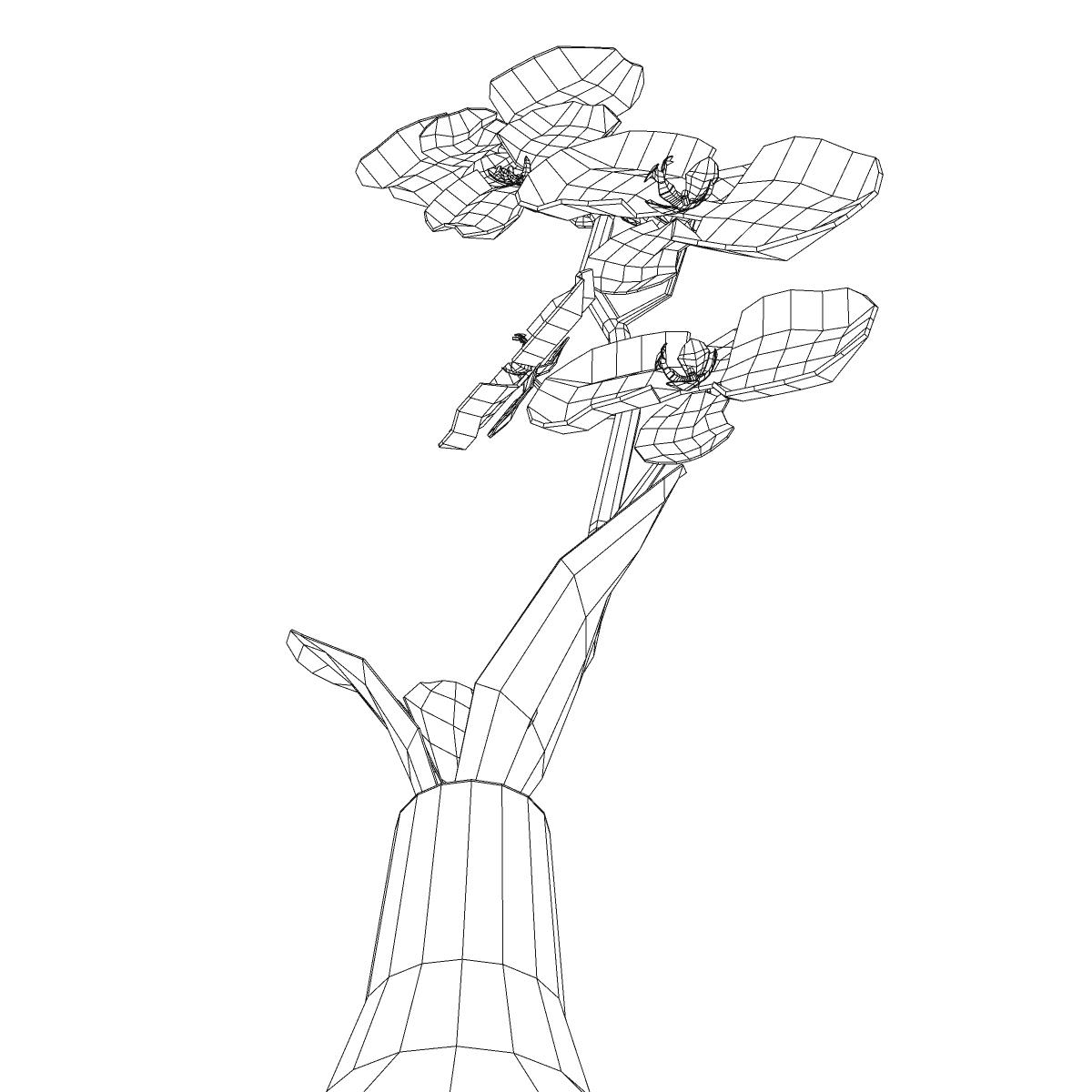 cvijetna baza 3d model 3ds max fbx ma mb obj 158108