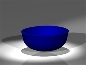 bowl 3d model 3ds dxf lwo 81033
