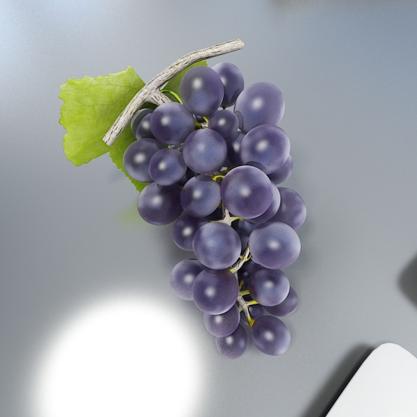 Black Grapes High Detailed ( 171.3KB jpg by VKModels )