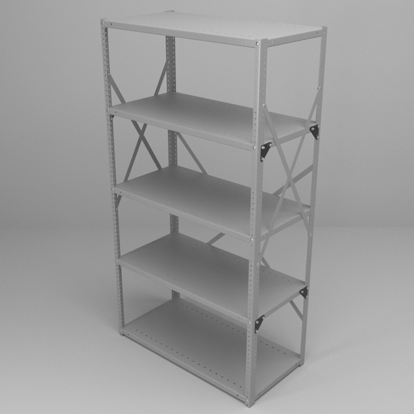 office racking 3d model 3ds fbx skp obj 118031