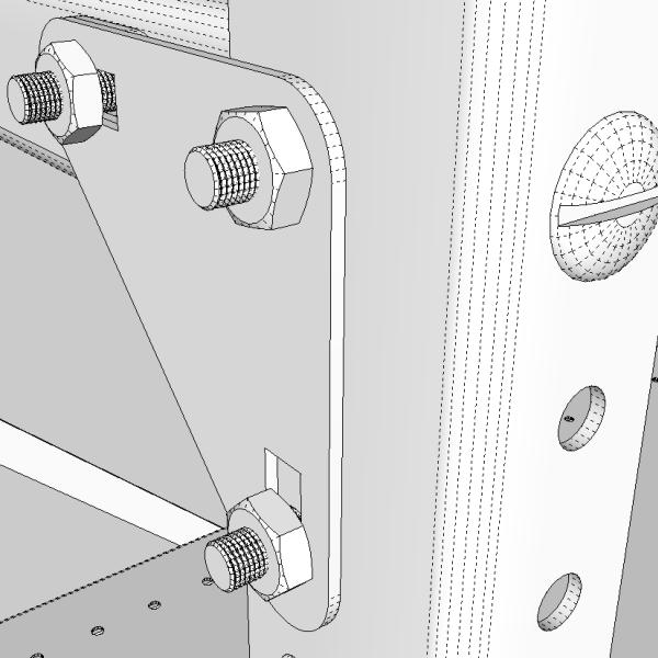 office racking 3d model 3ds fbx skp obj 118034