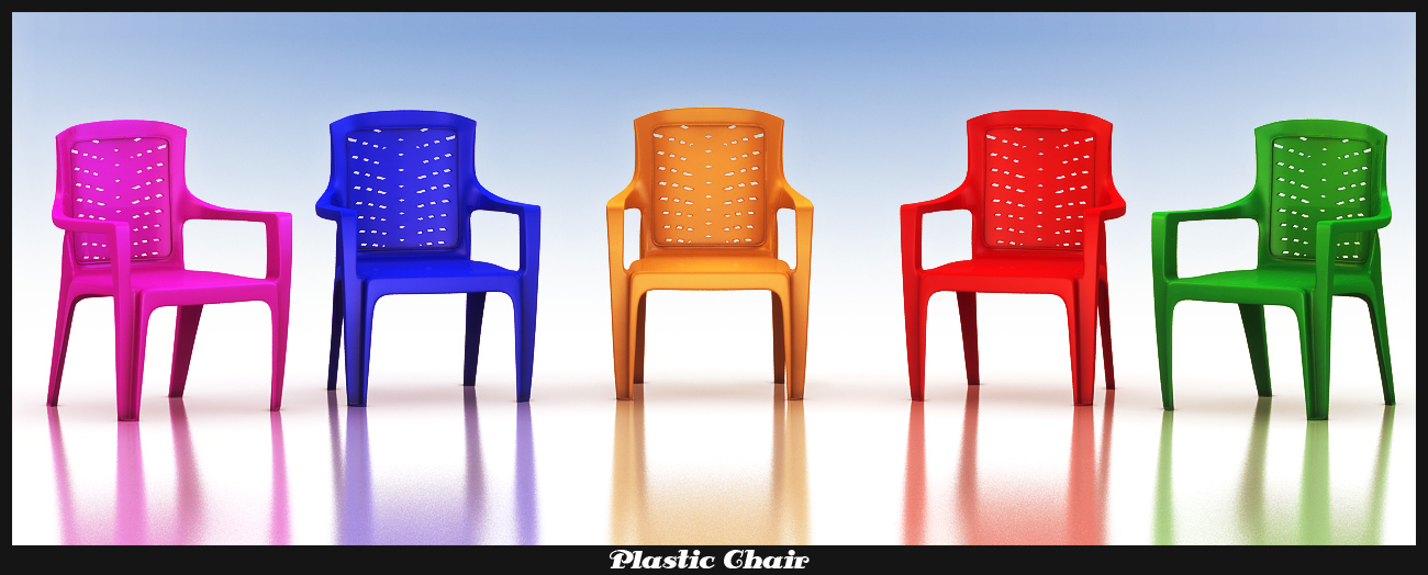 plastic chair 3d model 3ds max fbx obj 116762