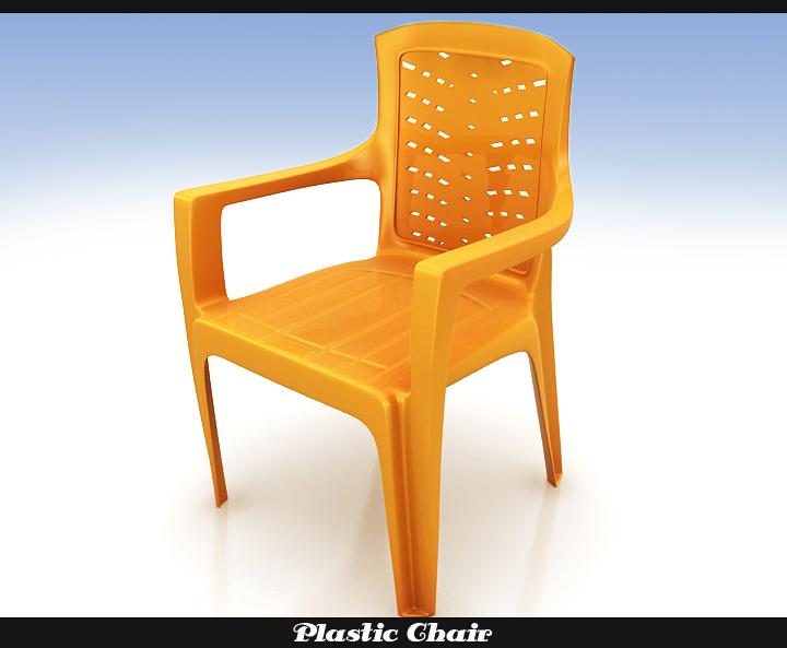 plastic chair 3d model 3ds max fbx obj 116765