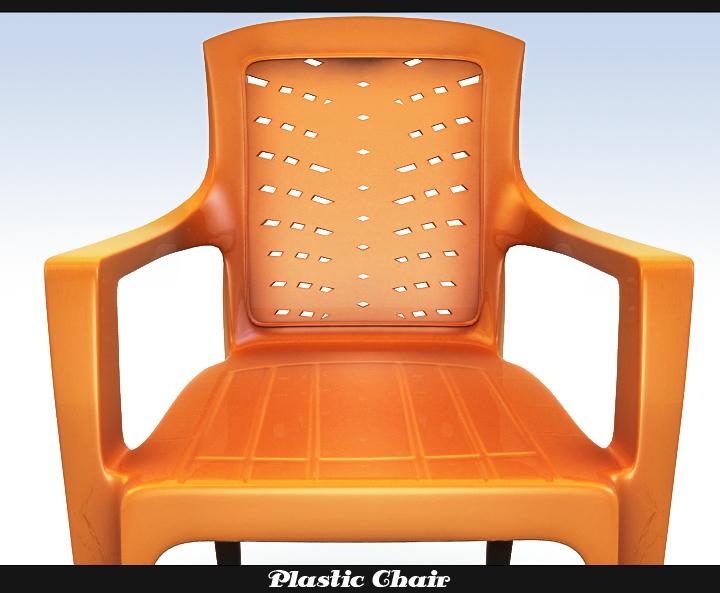 plastic chair 3d model 3ds max fbx obj 116766