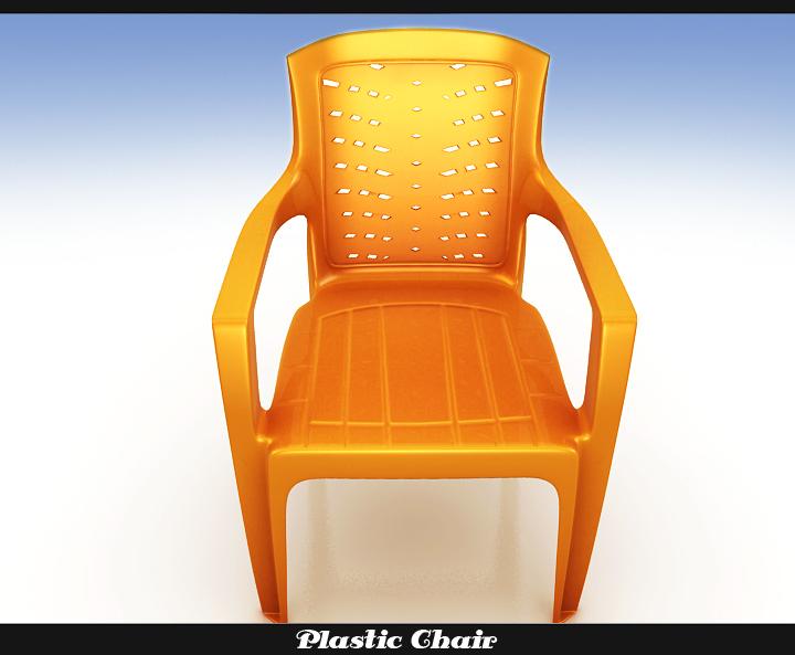 plastic chair 3d model 3ds max fbx obj 116769