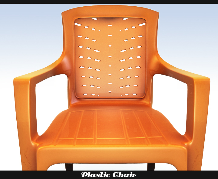 Plastic Chair 3d Model Buy Plastic Chair 3d Model Flatpyramid