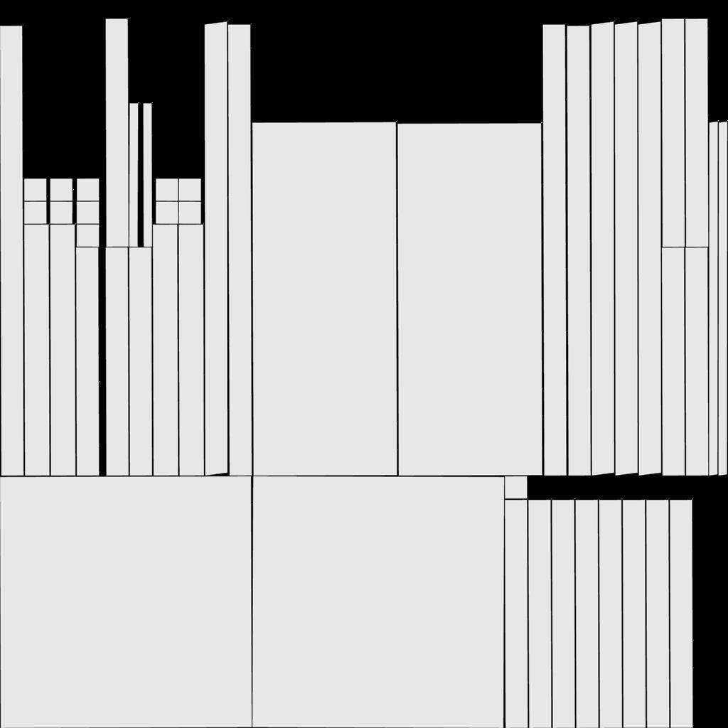 3d modeli 117441 uv şəkilli sadə kürsü