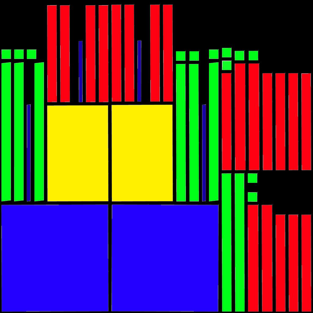 3d modeli 117444 uv şəkilli sadə kürsü