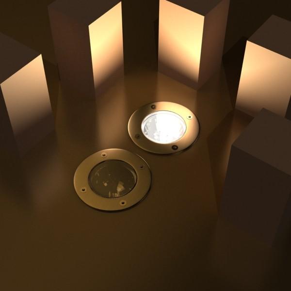 10 halogen lampanın toplanması 3d model 3ds max dwg obj 134736