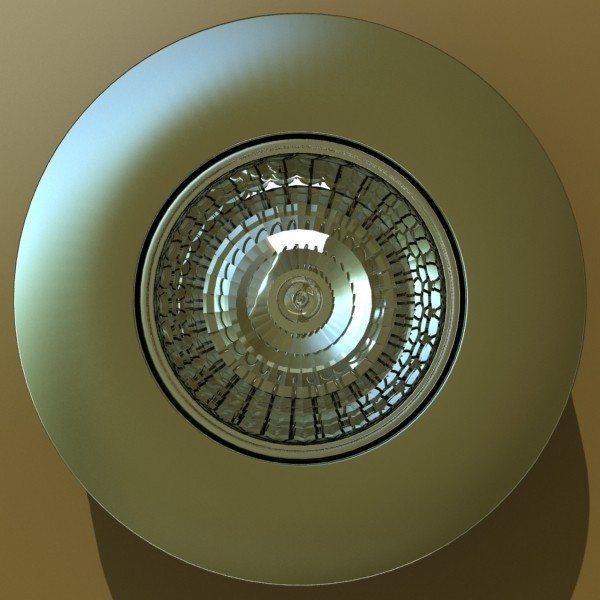 10 halogen lampanın toplanması 3d model 3ds max dwg obj 134743