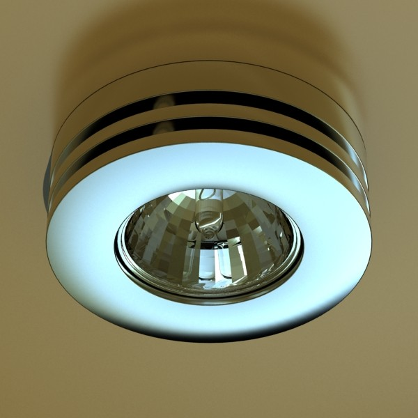 10 halogen lamp collection 3d model 3ds max dwg obj 134744