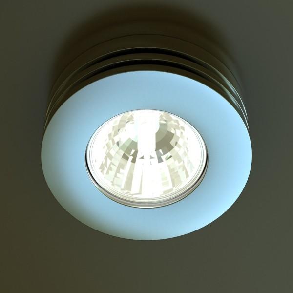10 halogen lampanın toplanması 3d model 3ds max dwg obj 134746
