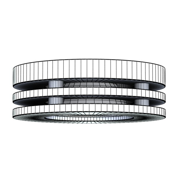 10 halogen lampanın toplanması 3d model 3ds max dwg obj 134750