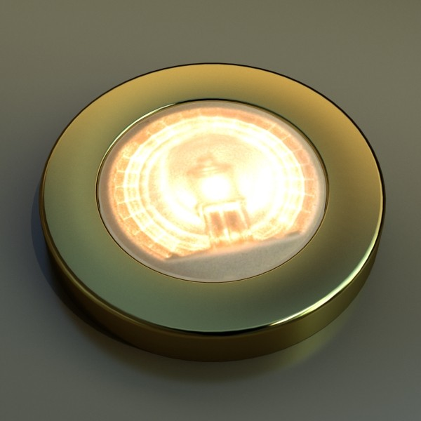 10 halogen lampanın toplanması 3d model 3ds max dwg obj 134753