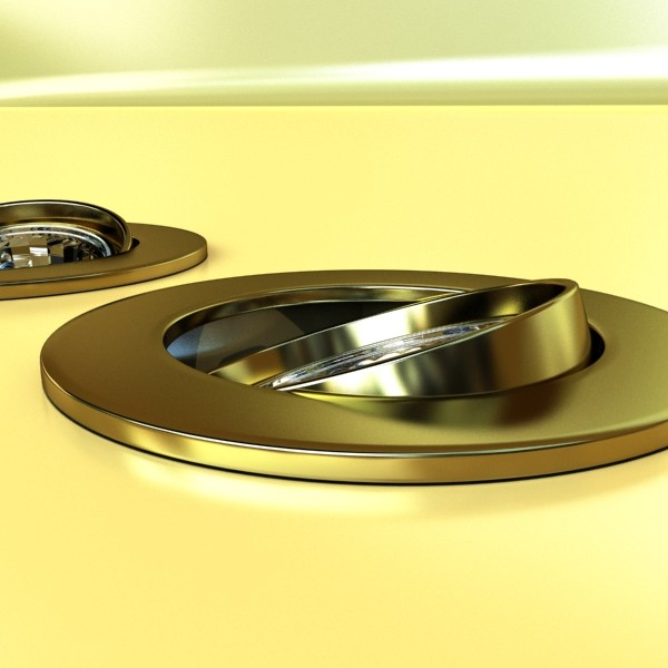 10 halogen lampanın toplanması 3d model 3ds max dwg obj 134762