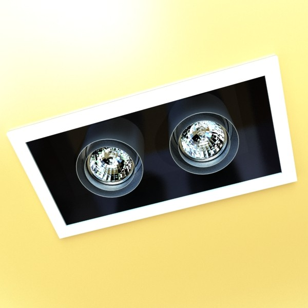 10 halogen lampanın toplanması 3d model 3ds max dwg obj 134797