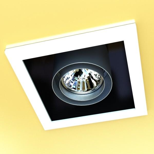 10 halogen lampanın toplanması 3d model 3ds max dwg obj 134798