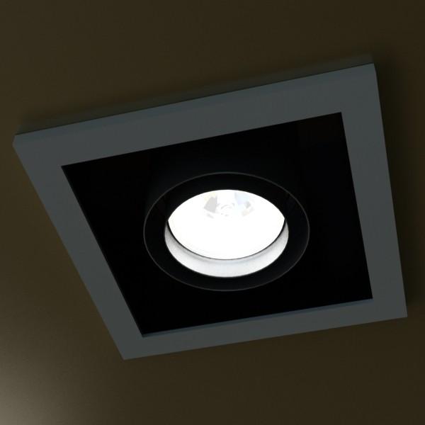 10 halogen lampanın toplanması 3d model 3ds max dwg obj 134799