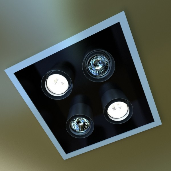 10 halogen lamp collection 3d model 3ds max dwg obj 134801
