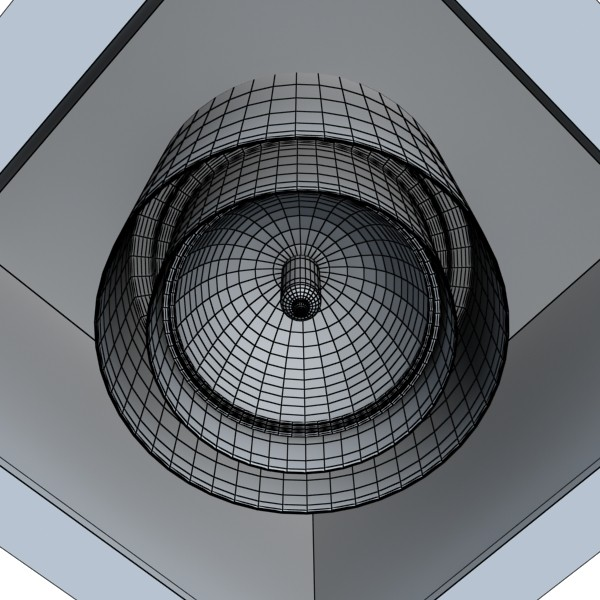 10 halogen lampanın toplanması 3d model 3ds max dwg obj 134807