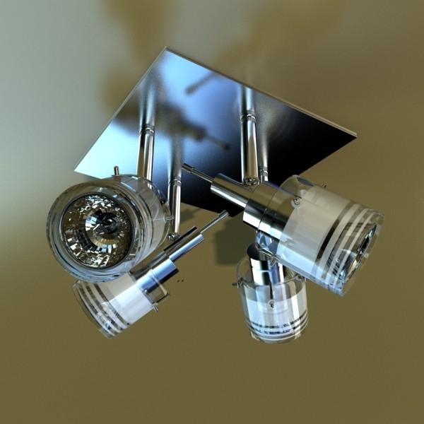 10 halogen lamp collection 3d model 3ds max dwg obj 134808