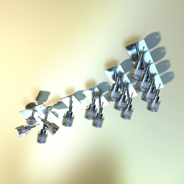 10 halogēna lampu kolekcija 3d modelis 3ds max dwg obj 134812
