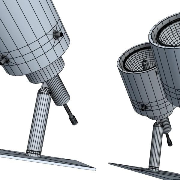 10 halogen lampanın toplanması 3d model 3ds max dwg obj 134816