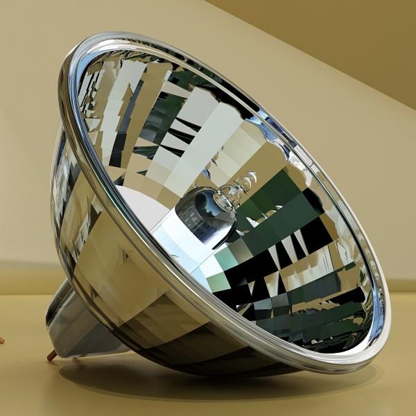 10 halogen lampanın toplanması 3d model 3ds max dwg obj 134819
