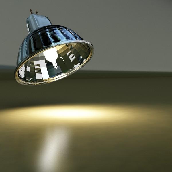 10 halogen lampanın toplanması 3d model 3ds max dwg obj 134822