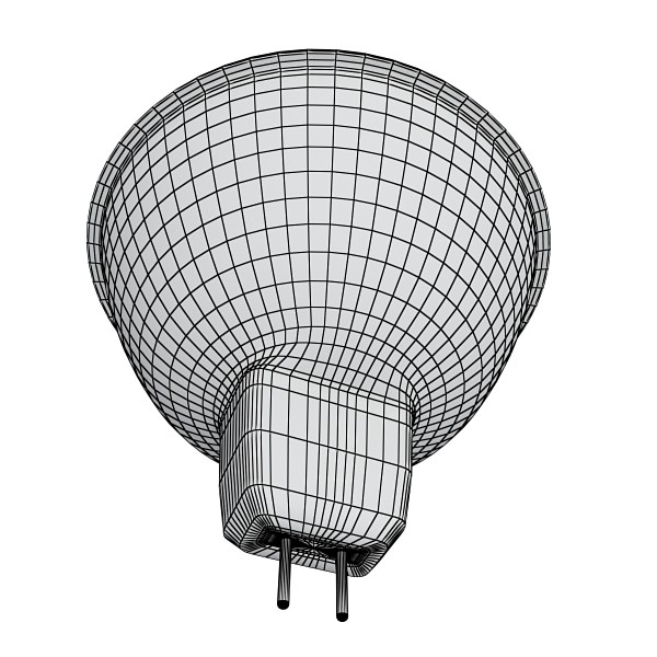 10 halogen lampanın toplanması 3d model 3ds max dwg obj 134824