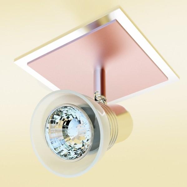 10 halogen lampanın toplanması 3d model 3ds max dwg obj 134833