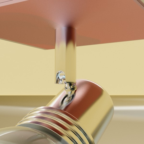 10 halogen lampanın toplanması 3d model 3ds max dwg obj 134835