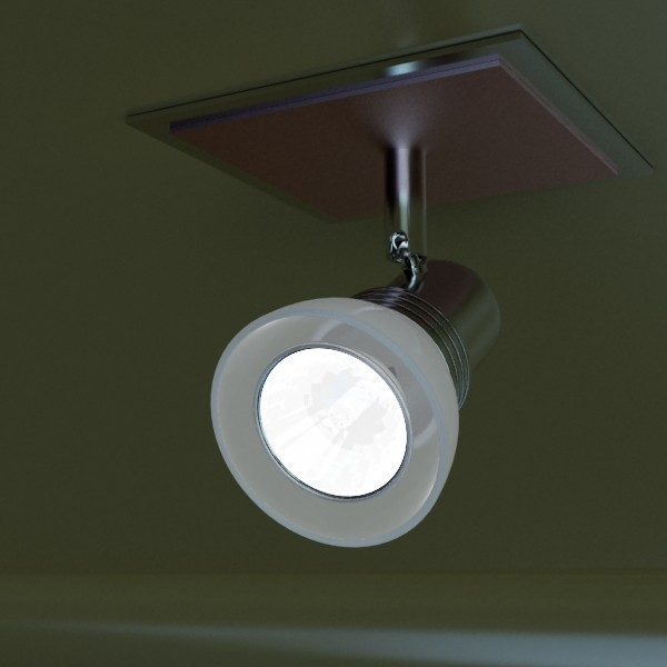 10 halogen lampanın toplanması 3d model 3ds max dwg obj 134836