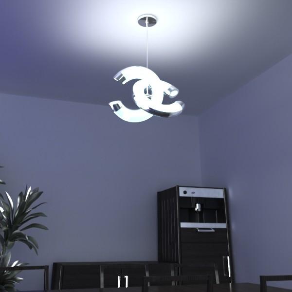 10 koleksi lampu loket moden 3d model 3ds max fbx obj 135163