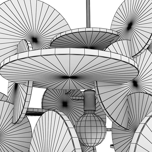 10 koleksi lampu loket moden 3d model 3ds max fbx obj 135173