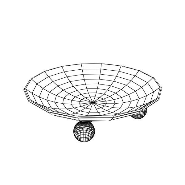 3D Model Cherries in Glass Bowl High Res ( 39.02KB jpg by VKModels )