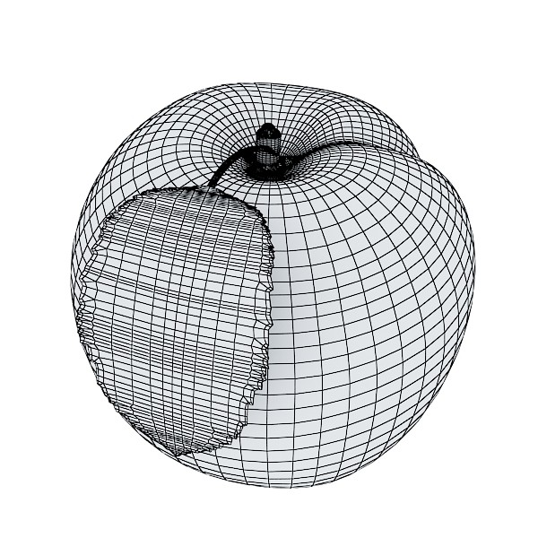 3D Model Fruits & Basket Collection ( 104.47KB jpg by VKModels )